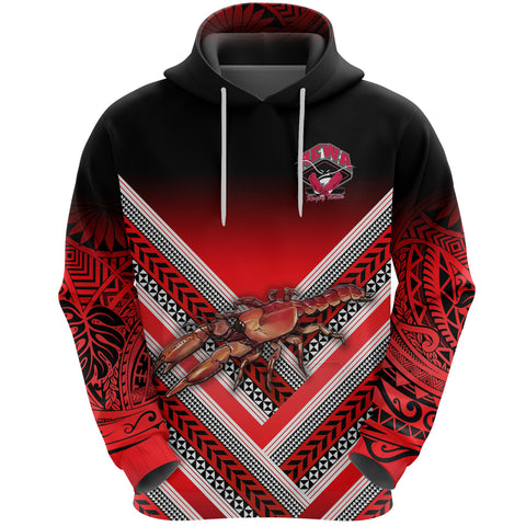 Image of Rewa Rugby Union Fiji Hoodie Creative Style K8
