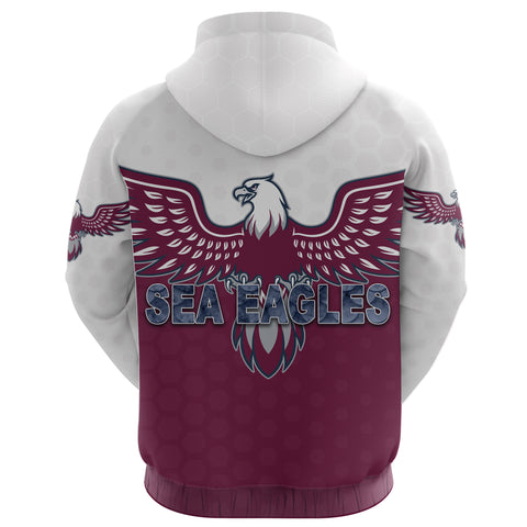 Warringah Hoodie Sea Eagles K8
