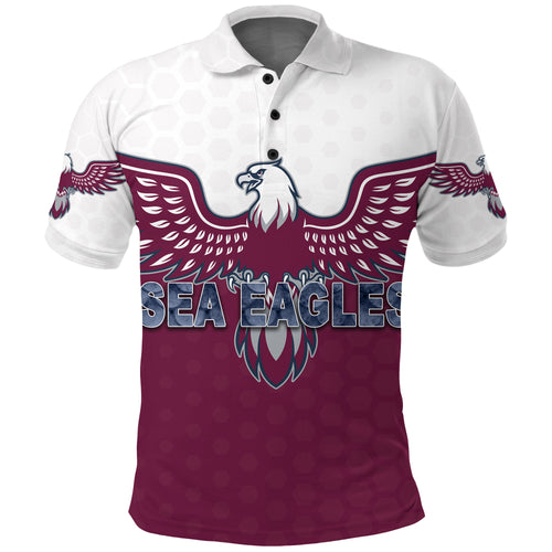 Warringah Polo Shirt Sea Eagles