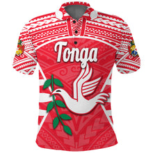 Load image into Gallery viewer, Tonga Polo Shirt Rugby Style