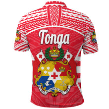 Load image into Gallery viewer, Tonga Polo Shirt Rugby Style K8