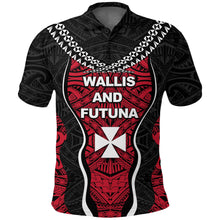 Load image into Gallery viewer, Wallis and Futuna Tapa Polo Shirt K4