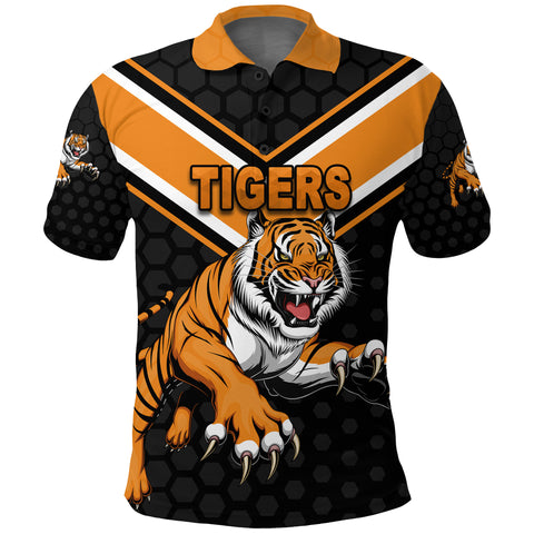 Image of Wests Polo Shirt Tigers