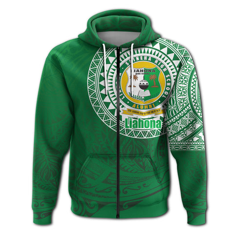 Image of Liahona Tonga Zip Hoodie Polynesian Free Style | Rugbylife.co
