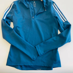 Primary Photo - BRAND: ADIDAS STYLE: ATHLETIC TOP COLOR: BLUE SIZE: S SKU: 212-21271-6