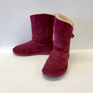 Primary Photo - BRAND: BEARPAW STYLE: BOOTS ANKLE COLOR: MAROON SIZE: 9 SKU: 212-21268-6296
