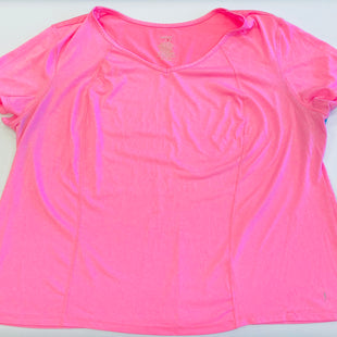 Primary Photo - BRAND: DANSKIN NOW STYLE: ATHLETIC TOP COLOR: PINK SIZE: 4X SKU: 212-21252-10588