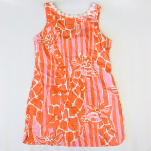 Primary Photo - BRAND: LILLY PULITZER STYLE: DRESS SHORT SLEEVELESS COLOR: ORANGE SIZE: 14 SKU: 212-21255-10159