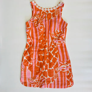Primary Photo - BRAND: LILLY PULITZER STYLE: DRESS SHORT SLEEVELESS COLOR: ORANGE SIZE: 2 SKU: 212-21255-11731