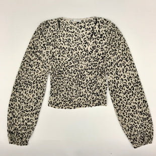 Primary Photo - BRAND: ZARA BASIC STYLE: TOP LONG SLEEVE COLOR: ANIMAL PRINT SIZE: S SKU: 212-21268-5940