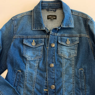 Primary Photo - BRAND: NEW LOOK STYLE: JACKET OUTDOOR COLOR: DENIM SIZE: M SKU: 212-21252-12291
