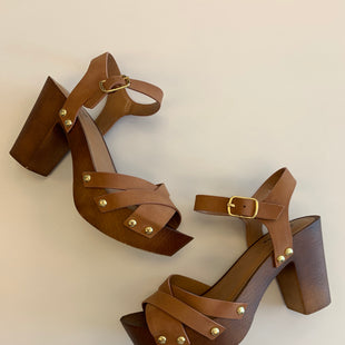 Primary Photo - BRAND: QUPID STYLE: SHOES HIGH HEEL COLOR: BROWN SIZE: 7 SKU: 212-21255-12315