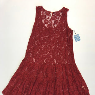 Primary Photo - BRAND: FREE PEOPLE STYLE: DRESS SHORT SLEEVELESS COLOR: RED SIZE: S SKU: 212-21255-10019R