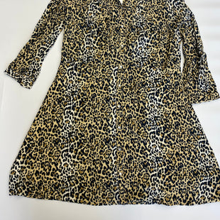 Primary Photo - BRAND: GAP STYLE: DRESS SHORT LONG SLEEVE COLOR: LEOPARD PRINT SIZE: 16 SKU: 212-21252-10899