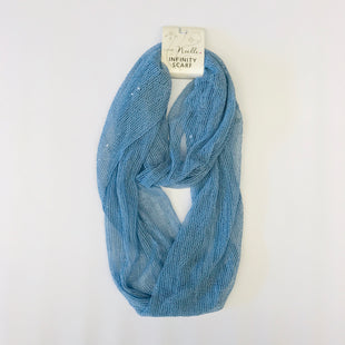 Primary Photo - BRAND: SIMPLY NOELLE STYLE: SCARF COLOR: BLUE SKU: 212-21252-11380
