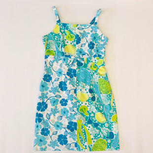 Primary Photo - BRAND: LILLY PULITZER STYLE: DRESS SHORT SLEEVELESS COLOR: BLUE SIZE: 2 SKU: 212-21255-8298