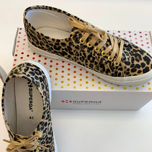 Primary Photo - BRAND: SUPERGA STYLE: SHOES ATHLETIC COLOR: ANIMAL PRINT SIZE: 9.5 SKU: 212-21255-12097