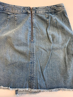 Photo #1 - BRAND: ANN TAYLOR LOFT <BR>STYLE: SKIRT <BR>COLOR: DENIM <BR>SIZE: 4 <BR>SKU: 212-21255-12322