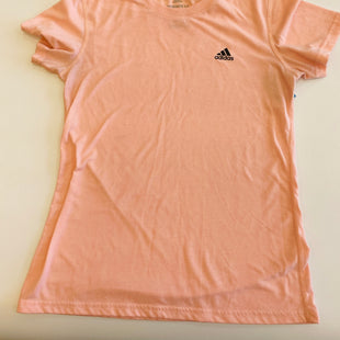Primary Photo - BRAND: ADIDAS STYLE: ATHLETIC TOP SHORT SLEEVE COLOR: PINK SIZE: S SKU: 212-21255-9846