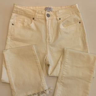 Primary Photo - BRAND: MUDPIE STYLE: PANTS COLOR: OFF WHITE SIZE: M SKU: 212-21252-12140