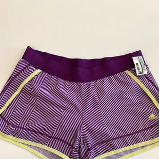 Primary Photo - BRAND: ADIDAS STYLE: ATHLETIC SHORTS COLOR: PURPLE SIZE: M SKU: 212-21245-839