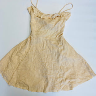 Primary Photo - BRAND: FREE PEOPLE STYLE: DRESS SHORT SLEEVELESS COLOR: BEIGE SIZE: M SKU: 212-21255-11019