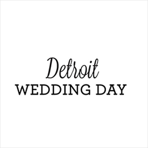 Detroit Wedding Day
