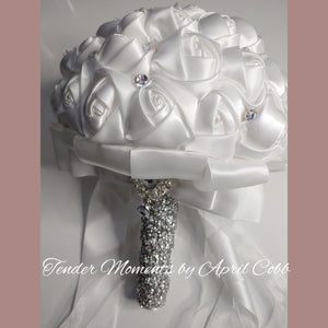 Simple Elegance Bling Dreams Brooch Bouquet|READY to SHIP