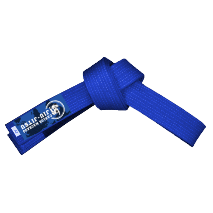 Carlos Machado Jiu-Jitsu Official Blue Belt