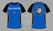 Blue Belt Ranked Short Sleeve Rashguard - Carlos Machado Jiu-Jitsu Gear