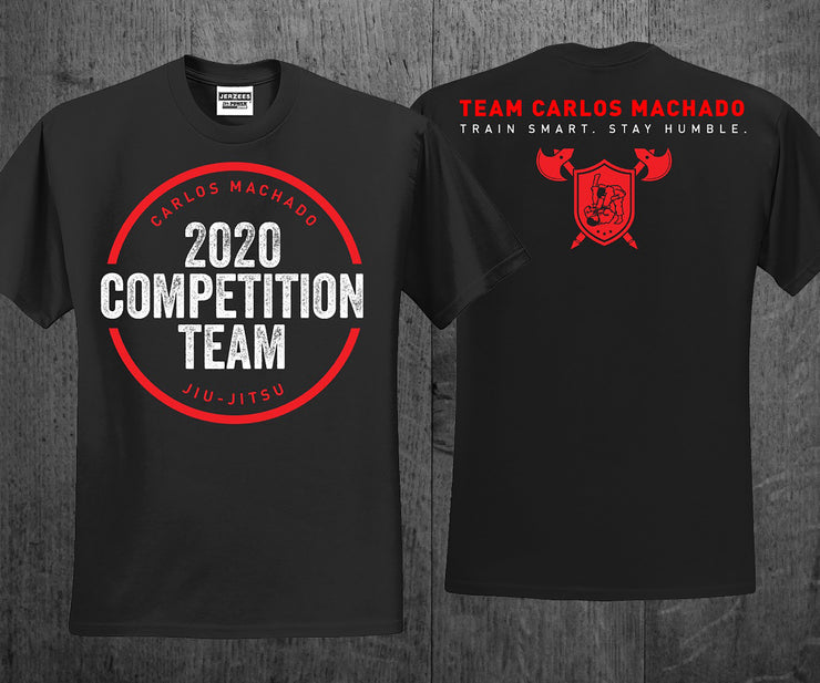 2020 CMJJ Competition Tee - Adult - Carlos Machado Jiu-Jitsu Gear