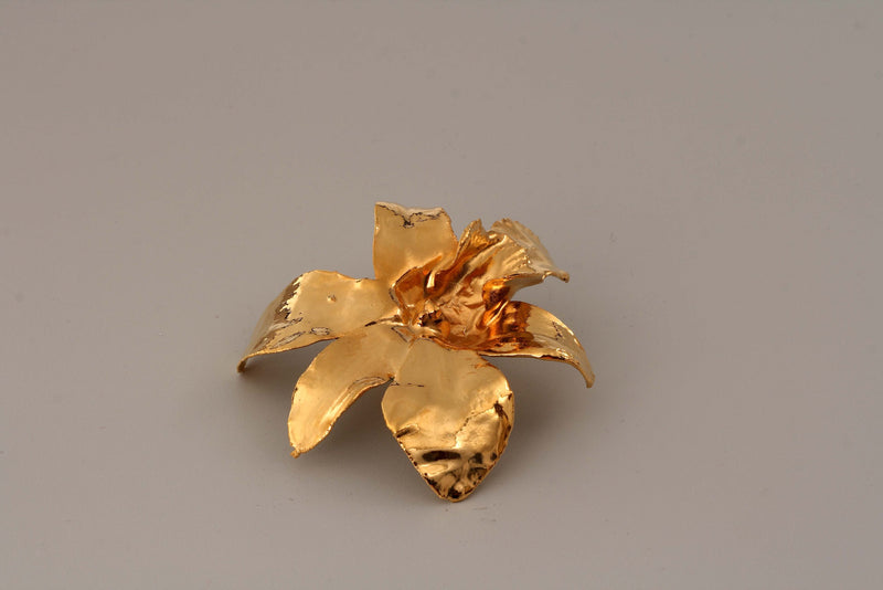 24k GOLD ORCHID FLOWER