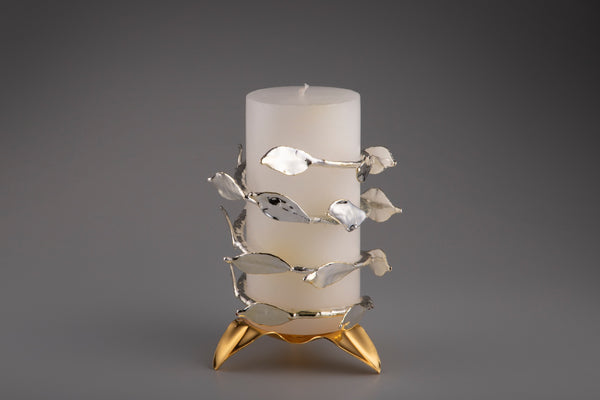 LEAF BAIL CANDLE STAND