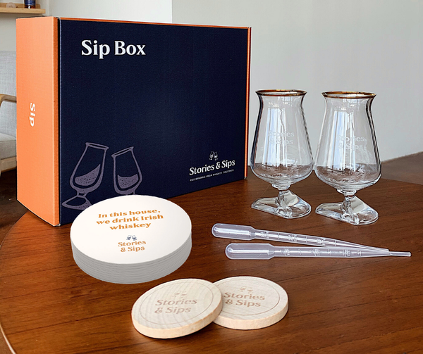 The Irish Whiskey Sip Box