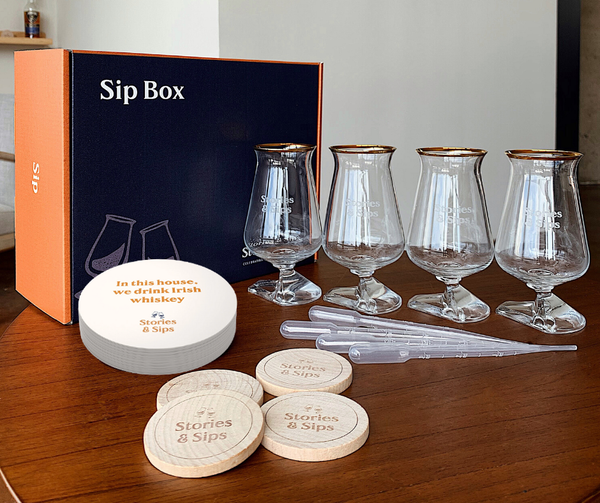 The Irish Whiskey Super Sip Box