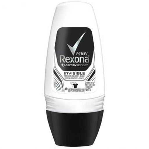 REXONA ROLL-ON 50 ML INVISIBLE MEN *6*4