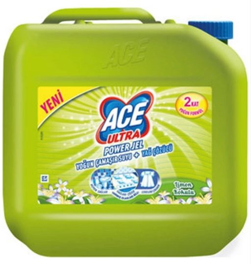ACE ULTRA POWER JEL 3 KG LİMON KOKULU *4