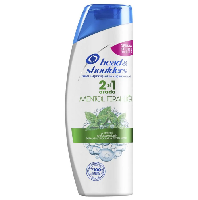 HEAD & SHOULDERS 400 ML MENTOL 2İN1