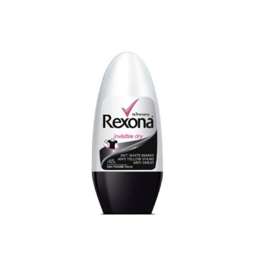 REXONA ROLL-ON 50 ML INVISIBLE DRY - WOMEN *24
