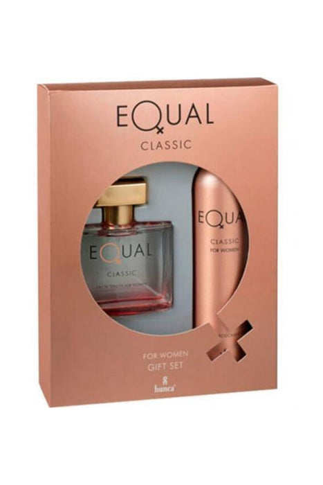EQUAL BAYAN SET (EDT+DEO) CLASSIC *12
