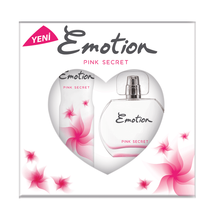 EMOTION SET EDT+DEO PINK SECRET *6