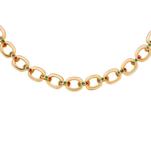 Victoria Link-Chain Necklace