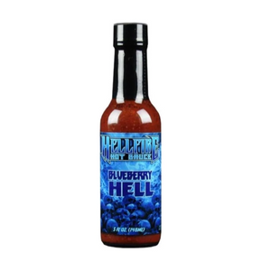 Blueberry Hell Hot Sauce