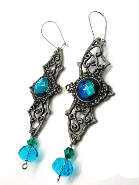 Goth Earrings - Enchanted Bat