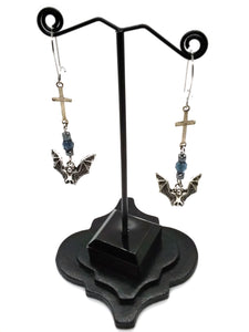 Goth Earrings - Vampire Bane