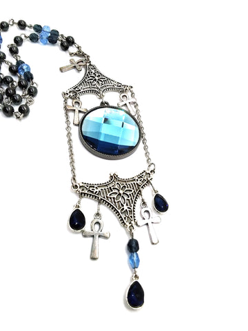 Goth Necklace - Frozen Portal
