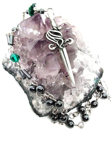 Goth Necklace - Dagger Necklace