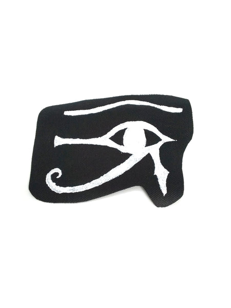 Goth Patch - Eye of Ra - Hand Painted
