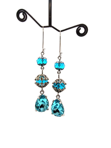 Goth Earrings - Icicle