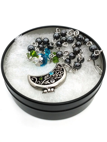 Spring Collection - Moon Locket